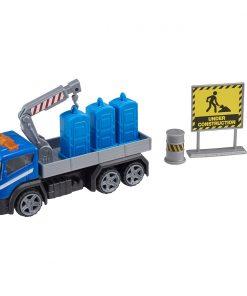 Camion cu accesorii de constructie Teamsterz, Albastru