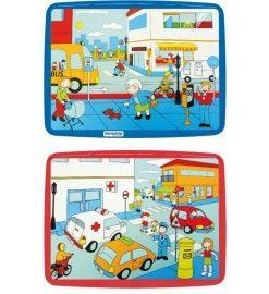 Puzzle 56 piese Codul rutier - Miniland