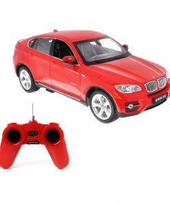 Masina cu telecomanda Rastar BMW X6, 1:24, Rosu