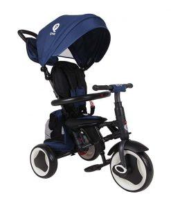 Tricicleta pliabila Qplay Rito Plus, Albastru