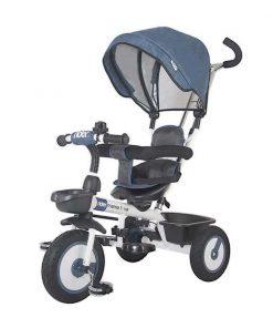 Tricicleta multifunctionala Rider Mama Love, Albastru