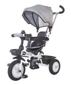 Tricicleta multifunctionala Rider Mama Love, Gri