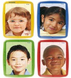 Set 4 puzzle Copiii lumii