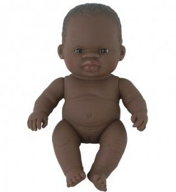Papusa vinil 21 cm Fetita africana