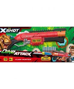 Blaster X-Shot Dino Attack Claw Hunter, 24 proiectile