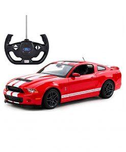 Masina cu telecomanda Rastar Ford Shelby GT 500, 1:14, Rosu