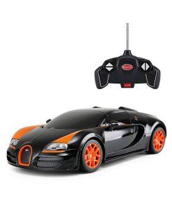 Masina cu telecomanda Rastar Bugatti Veyron Grand Sport Vitesse, 1:18, Negru