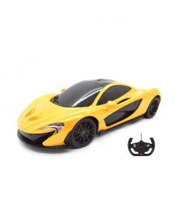 Masina cu telecomanda Rastar McLaren P1 RC, 1:24, Galben