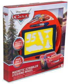 Tabla magnetica medie Cars in forma de volan