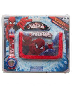 Set Ceas Si Portofel Spiderman