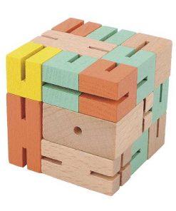 Joc logic 3d puzzle boy verde