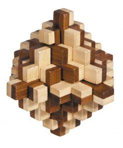 Joc logic iq din lemn bambus 3d iceberg