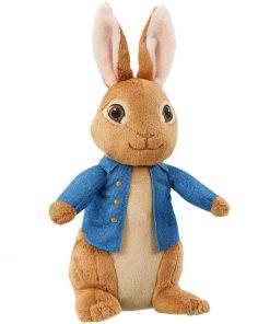 Jucarie vorbitoare din plus peter rabbit, 30 cm