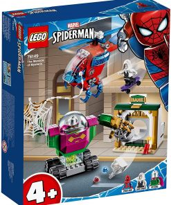 Lego super heroes amentarea lui mysterio 76149