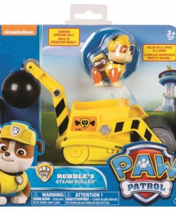Patrula catelusilor figurina cu autovehicul buldozerul lui rubble