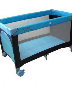 Patut pliabil eurobaby qx-805 - albastru