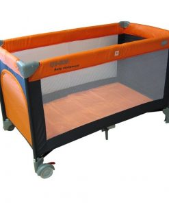 Patut pliabil eurobaby qx-805 - portocaliu
