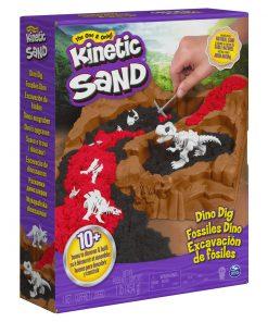 Set kinetic sand dino santierul arheologic