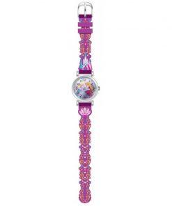 Ceas violet de mana analogic Frozen Disney Castel