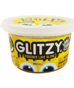 Gelatina Compound Kings - Glitzy Slime, Gold, 80 g