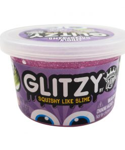 Gelatina Compound Kings - Glitzy Slime, Purple, 80 g