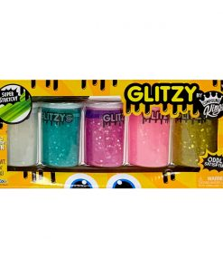 Set Gelatina Compound Kings - Glitzy Slime, 450 g