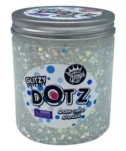 Gelatina Compound Kings - Glitzy Dotz Slime, Snow Cone, 425 g