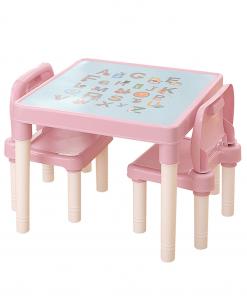 Set pentru copii 1 + 2, roz / coral, BALTO