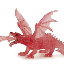 Dragonul de rubin - Figurina Papo