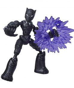Figurina flexibila Avengers Bend and Flex, Black Panther (E7868)