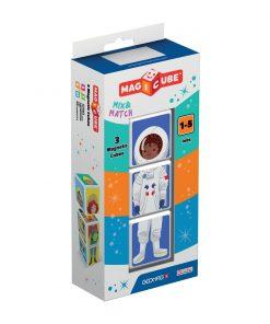 Joc de constructie magnetic Magic Cube, Meserii