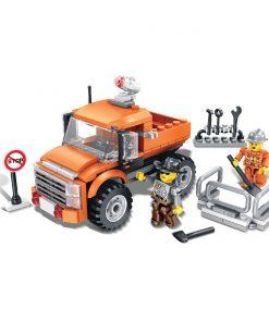 Jucarie de constructie Micul Constructor - Camioneta