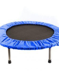 Trambulina pliabila Action One, Albastru, 137 cm