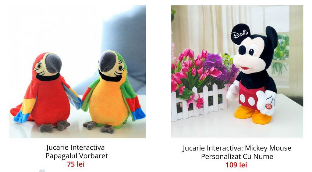 Jucarie interactiva Elefant Cucu Bau, Peek a Boo - canta si vorbeste, Gri/Roz - Shop Like A Pro