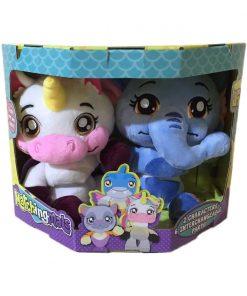 Set doua animalute de plus Matchingmals, Elefant si Unicorn