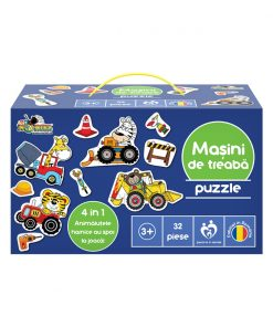 Puzzle Noriel - Masini de treaba