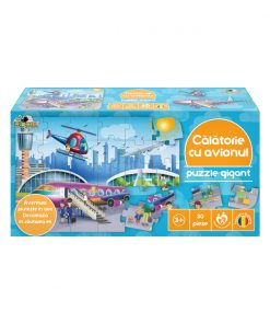 Puzzle Gigant Noriel - Calatorie cu avionul, 30 piese