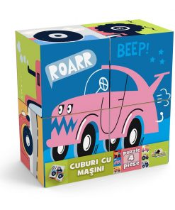 Puzzle Noriel, Cuburi cu masini