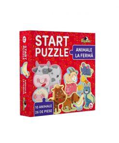 Noriel Puzzle - Start Puzzle, Animale la ferma