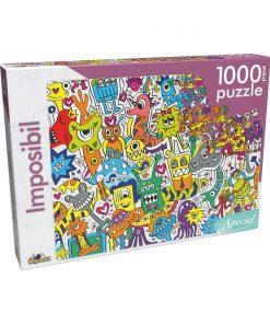 Puzzle clasic Noriel - Imposibil, 1000 piese