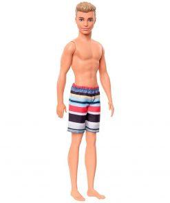 Papusa Barbie by Mattel Fashion and Beauty Ken la plaja GHW43