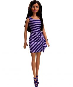 Papusa Barbie by Mattel Fashionistas cu tinuta petrecere FXL69