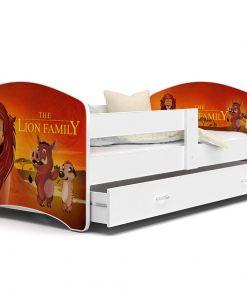 Patut Tineret MyKids Lucky 52 Lion Family-140x80