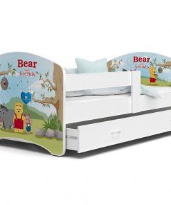 Patut Tineret MyKids Lucky 55 Bear and Friends-140x80
