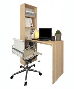 Masă (birou) multifuncţională, stejar sonoma, JASMIN
