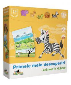 Puzzle Noriel Primele mele descoperiri - Animale in habitat