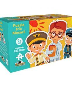 Puzzle trio Noriel - Meserii (12 piese)