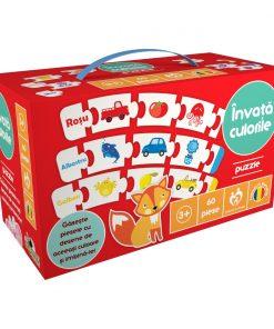 Puzzle Noriel - Invata culorile