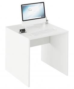 Masă de scris, alb, RIOMA TYP 17
