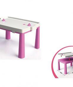 Set masa copii+scaun taburet MyKids 04580/3 Roz
